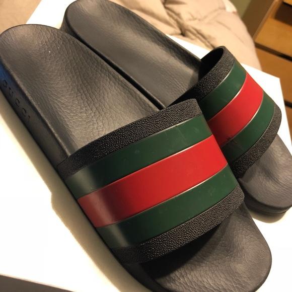 """ec8d9842b9f7a0 Gucci Other - Men s Gucci """"Pursuit 72 Slide"""" Sandal Size 10.5US"""